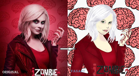 IZombie first fan art by cutecandy97