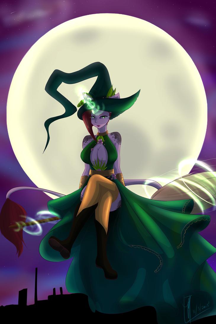 Raise Sapphire: Nightmare Night by Aya-dono