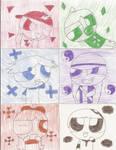 All six Rowdyruffs