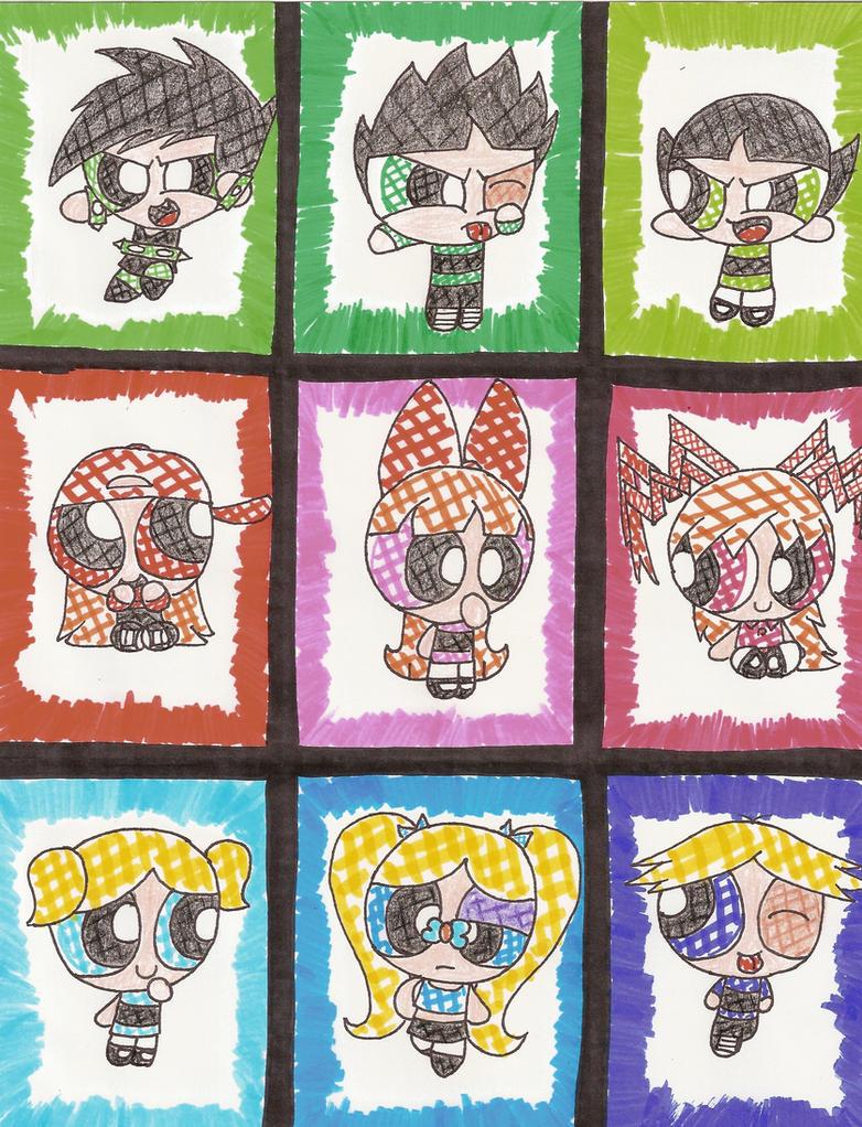 Powerpuff Girls Rowdyruff Boys