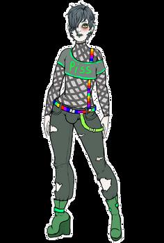 Alex Pissant (Male Persona)