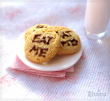 Cookies and Milk by Zhoira
