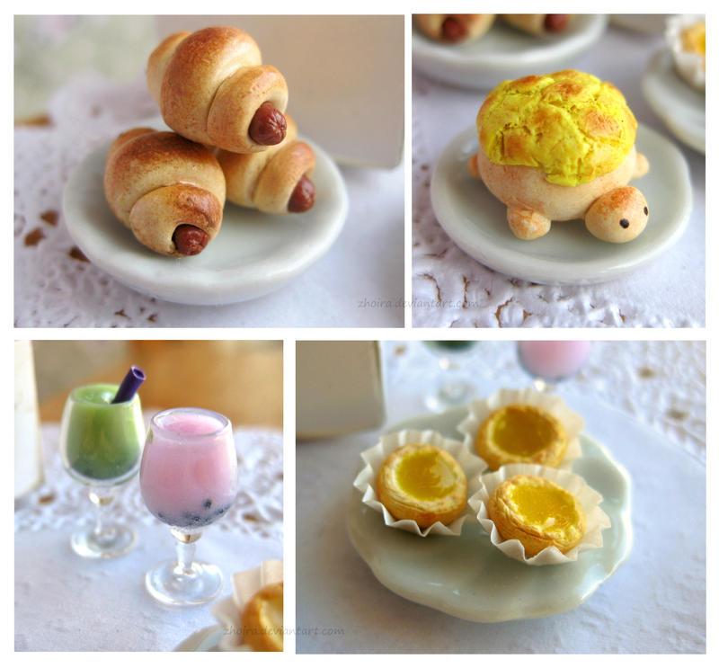 Chinese Bakery close up by Zhoira