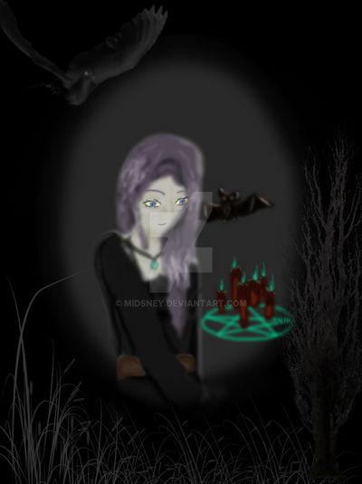Ghostly Witch Twili OC