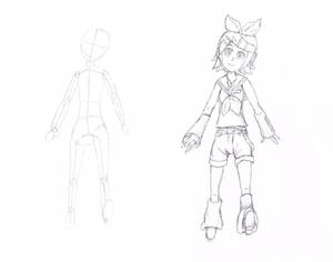 Kagamine Rin Sketch