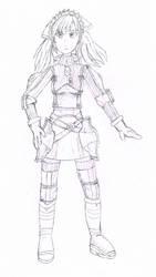 Alicia Melchiott Sketch