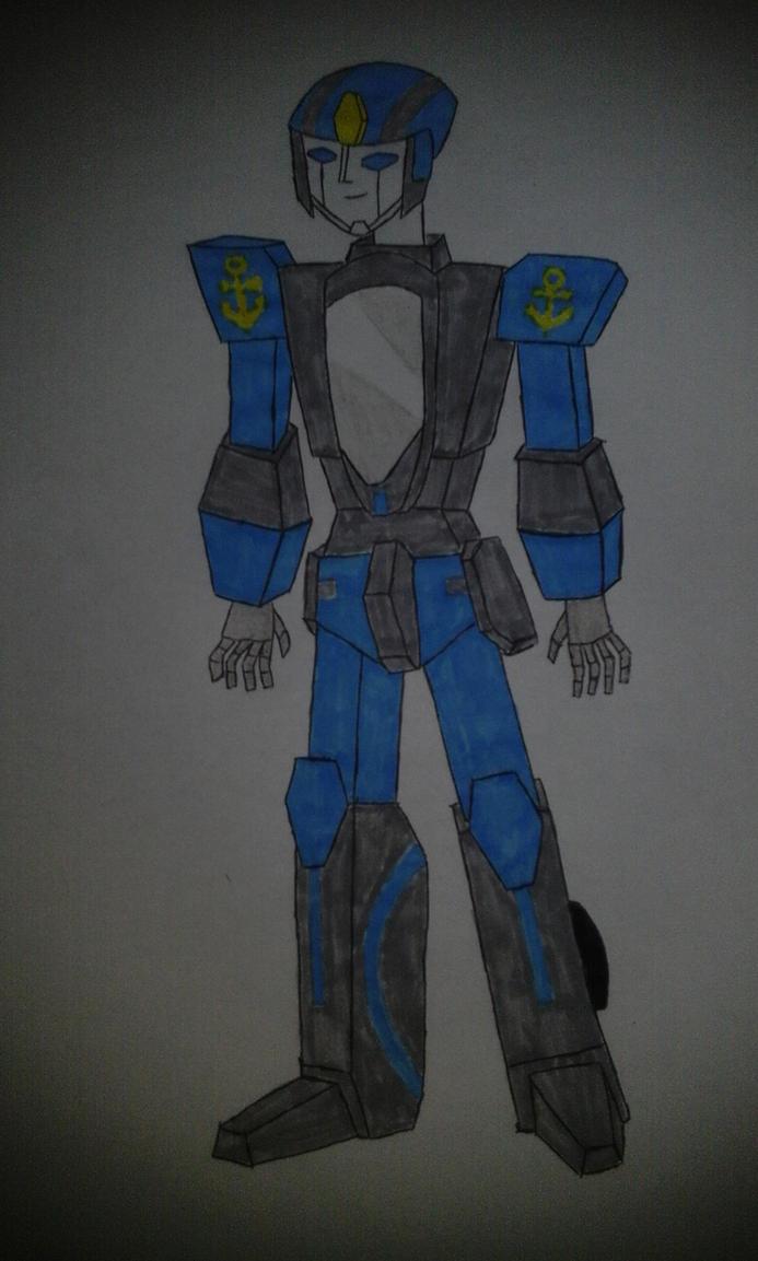 Brave Police J-Deckerd OC Anfibio by sarinavan