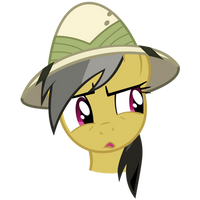 Daring Do is unsure by BaumkuchenPony