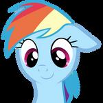cute Rainbow Dash