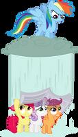 Dash lets it rain on the CMCs