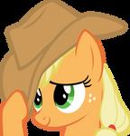 flattered Applejack
