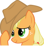 flattered Applejack