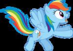 excited Rainbow Dash