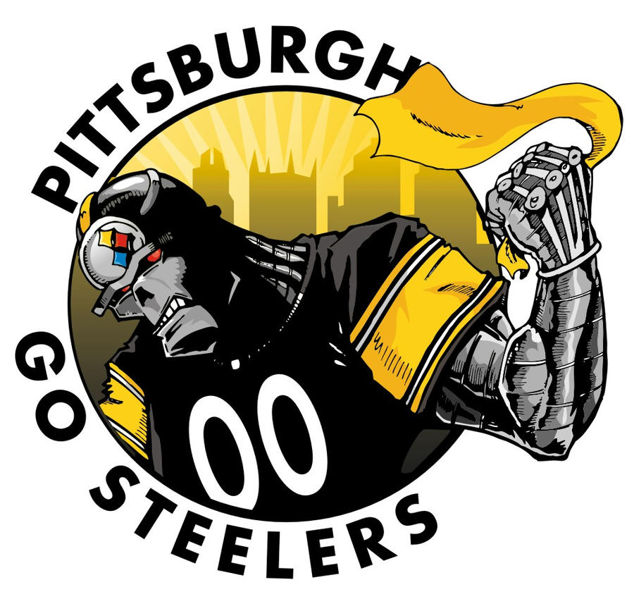 pittsburgh steelers by epoole88 on deviantart pics of steelers logo photo of pittsburgh steelers logo