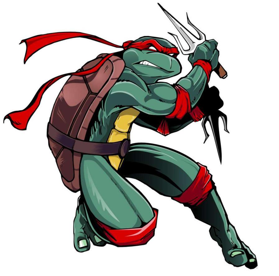 TMNT Raphael by Epoole88