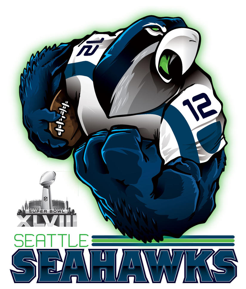Super Bowl XLVIII SEATTLE SEAHAWKS By Epoole88