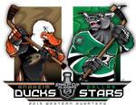NHL-PLAYOFFS-Rd 1 Ducks vs. Stars