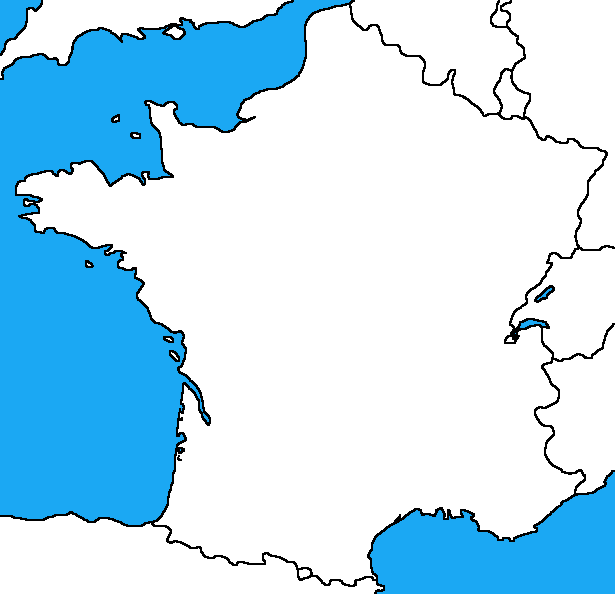 Blank Map Of France By DinoSpain On DeviantArt - France map blank