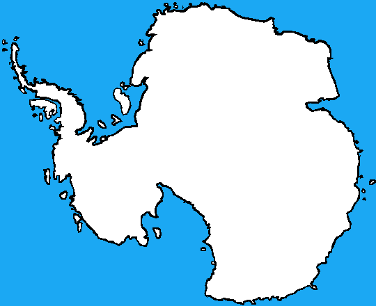 Blank Map Of Antarctica By DinoSpain On DeviantArt - Antarctica political map