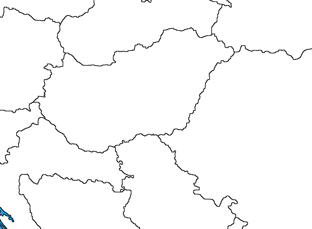 Blank Map Of Hungary By DinoSpain On DeviantArt - Hungary blank map