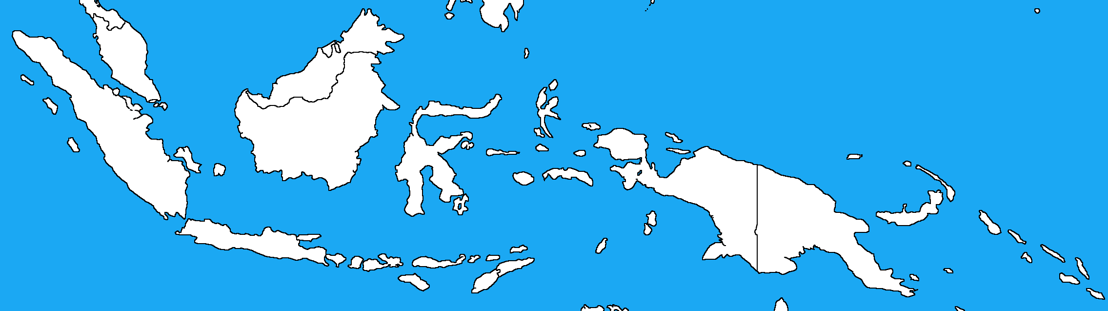 Blank Map Of Indonesia V By DinoSpain On DeviantArt - Indonesia political map