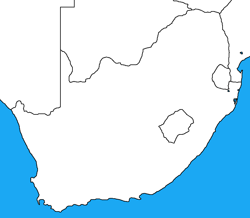 Blank Political Map Of Africa