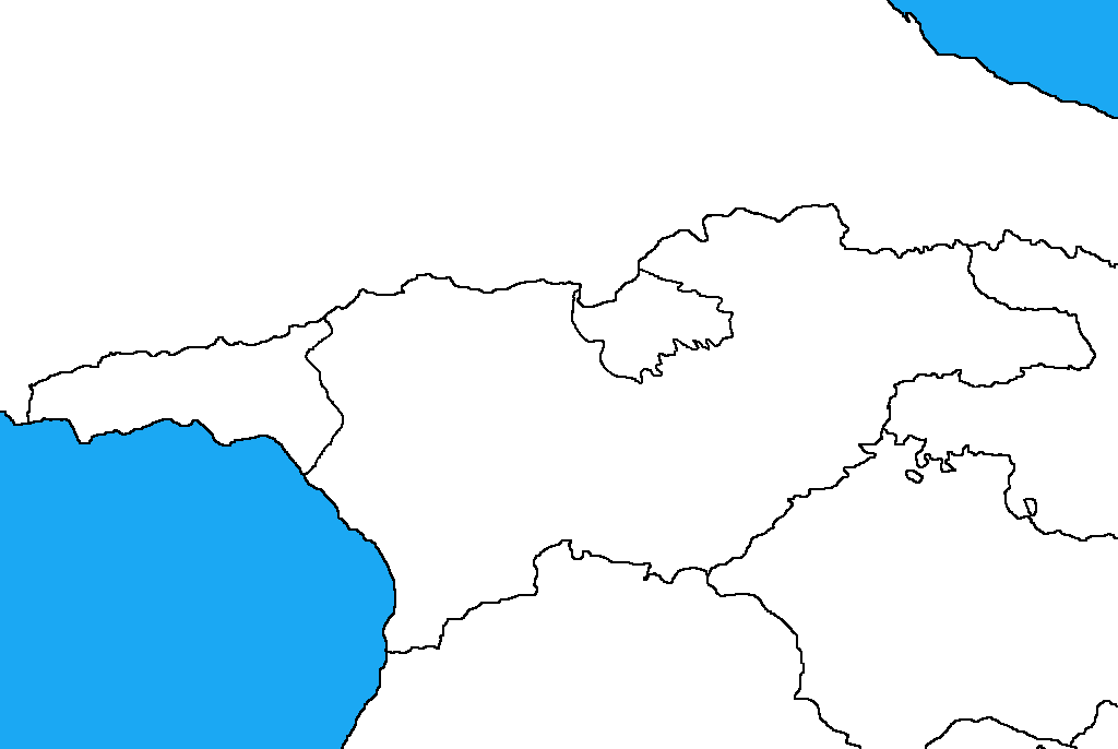 Blank map of Georgia by DinoSpain on DeviantArt