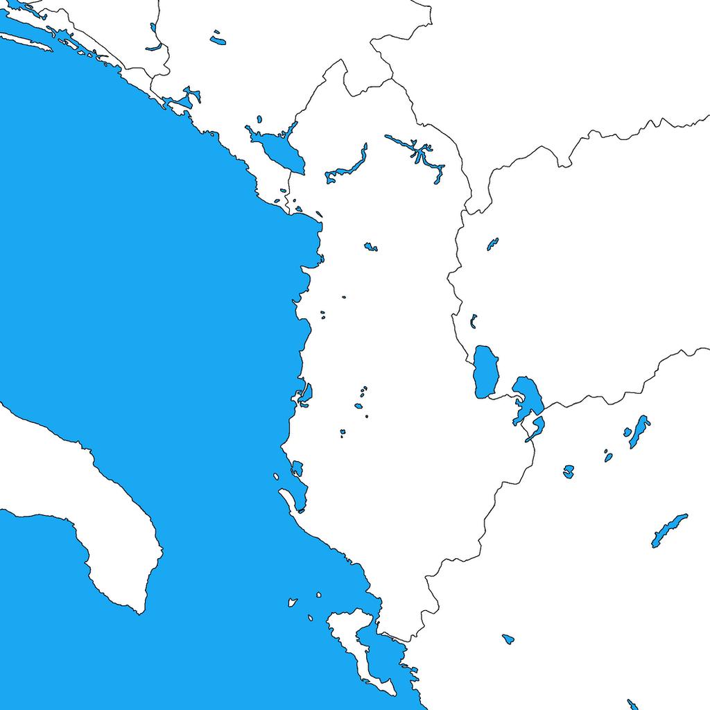 Europe on blank maps deviantart dinospain 1 4 blank map of albania by dinospain gumiabroncs Choice Image