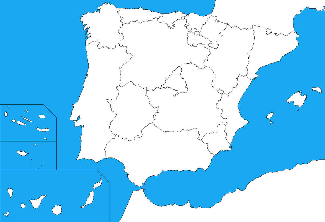 Blank map of the Iberian Peninsula by DinoSpain on DeviantArt on spain map, portugal location on map, ural mountains map, herculaneum map, latin map, spanish language, mediterranean map, austria map, scandinavian peninsula, strait of gibraltar, spanish inquisition, poland map, iberian peninsula map, black sea, rock of gibraltar, italian peninsula, roman empire map, european map, arabian peninsula, the british isles map,