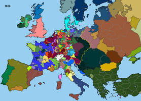 Europe as of 1486 by DinoSpain