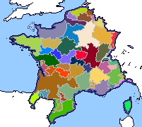 Provinces of France by DinoSpain