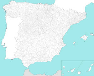 Administrative Map of Spain