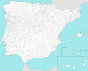 Administrative Map of Iberia