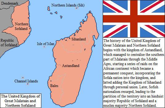 Quick map: The United Kingdom