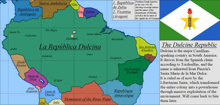 A land of sweetness: The Dulcine Republic