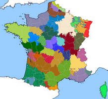 French Provinces and Departments (1789)