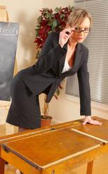 Sexy Secretary Sandra 01 by Kungfueric