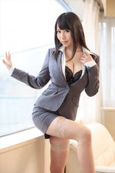 Asian Business Woman 16 by Kungfueric