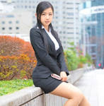 Asian Business Woman 19 by Kungfueric