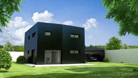 Cube House BETA 2 by Sph1re