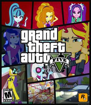 Equestria Girls Game Cover