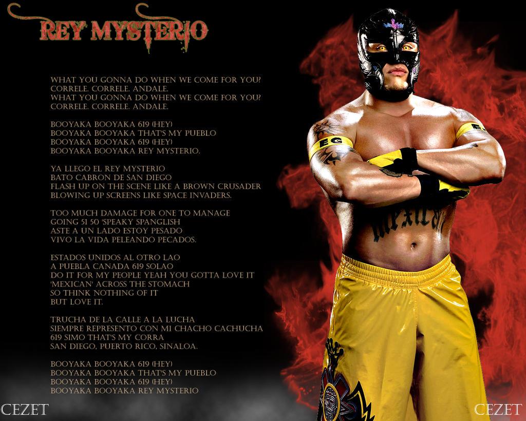 Rey Mysterio Wwe Wallpaper By Cezet On Deviantart