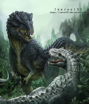 Vastatosaurus VS Indominus