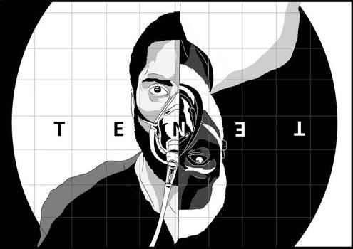 T E N E T (a fan-poster)