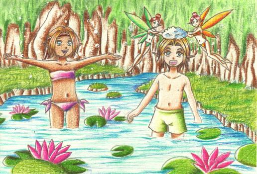 Summer bathing