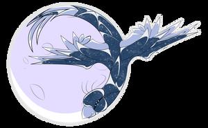 7$ Commission - Team Moonbird Badge by VikingHans