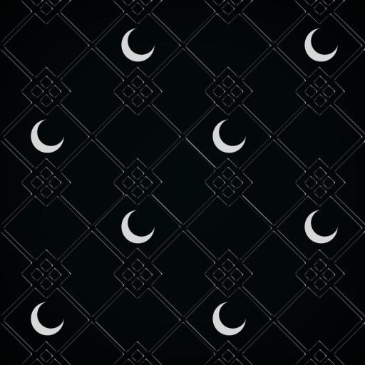 Seamless Moon Pattern by VikingHans on DeviantArt