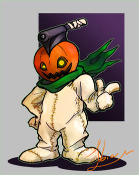 Pumpkinmon