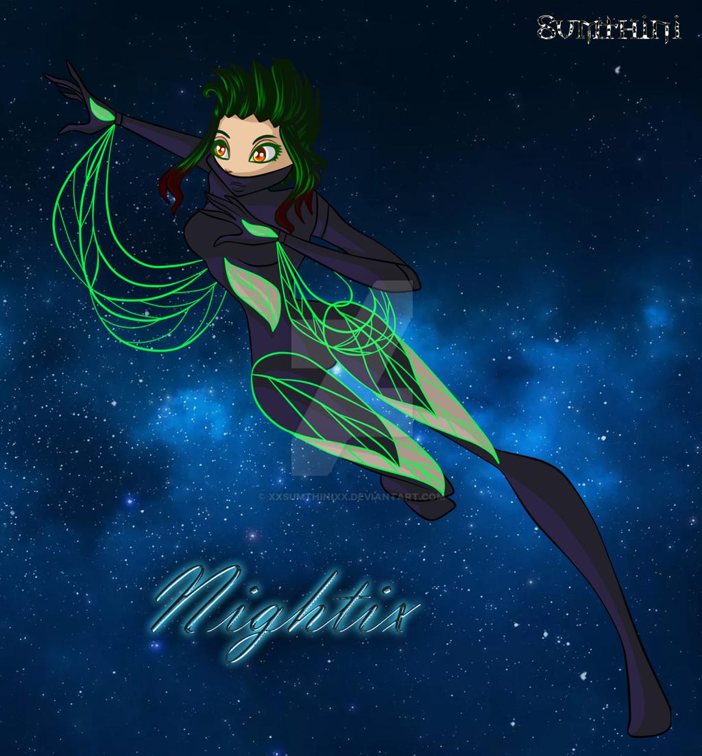 Dalleia Witch Nightix by xXSumthiniXx