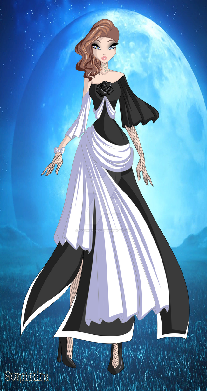 Siori in the dress by xXSumthiniXx